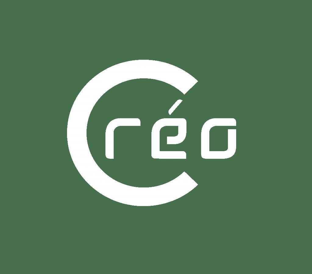 LOGO CREO_ transparent Blanc